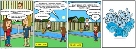 PE comic SS